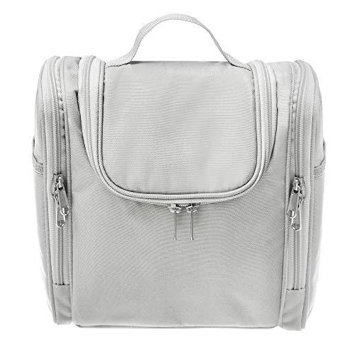 BiMAX XXL Kulturbeutel zum Aufhängen - Hochwertige & robuste Kosmetiktasche - 8L Kulturtasche mit vielen geräumigen Fächern - Extra stabile Schminktasche für Unterwegs