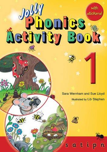 Jolly phonics. Activity book. Per la Scuola elementare. Con espansione online: JOLLY PHONICS ACTIVITY BOOK 1 S,A,T,I,P,N