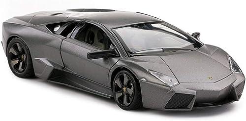 Lingling Lamborghini Reventon Simulation Original Sportwagen Modell Ornamente Geburtstagsgeschenk (Farbe   Schwarz