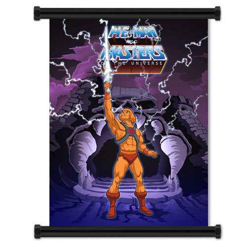 He-Man and the Masters of the Universe: Cartoon Fabric Wall Scroll Poster (32