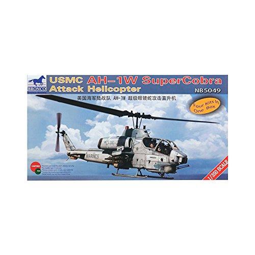 Unbekannt Bronco NB5049 - 1/350 USMC AH-1W Super Cobra Attack Helicopter