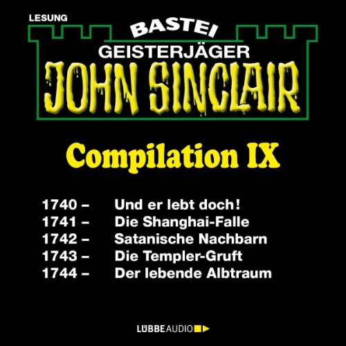 John Sinclair Compilation IX audiobook cover art