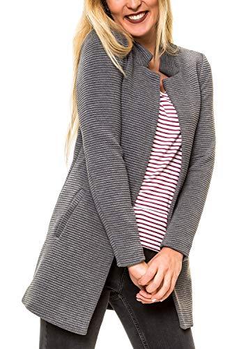 ONLY Damen Übergangsmantel Kurzmantel Long Blazer (M, Colour 8)