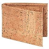 Simaru Portemonnaie aus Korkleder mit RFID Schutz,...