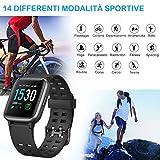 Immagine 1 willful smartwatch orologio fitness tracker