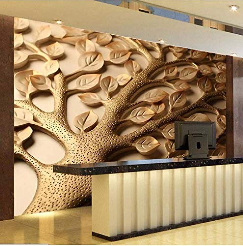 ahorra 50% -75% de descuento Mural Wallpaper 3D Arte Moderno Diseño Diseño Diseño Decoración Imagen Imagen Abstracta Alivio Hojas Pintura Dormitorio Sala De EEstrella Creativo Cochetel Extraíble Decoración 208 Cm  146 Cm  servicio honesto
