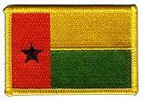 Aufnäher Patch Flagge Guinea-Bissau - 8 x 6 cm