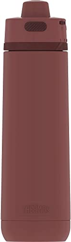 lowest Guardian Collection by THERMOS online Stainless Steel Hydration Bottle 24 Ounce, Rosewood new arrival Red online