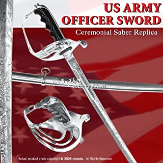 Etrading Military US Army Officer Saber Ceremonial Sword Replica