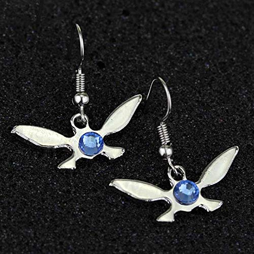 The Legend of Zelda Earrings Classic Simple Charm Triforce Navi Alloy Drop Earrings For Women Fashion Jewelry Accessories (2)