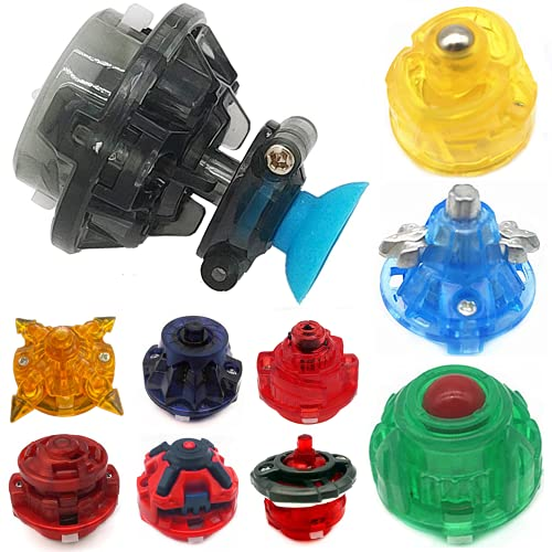 10 Pieces Burst Gyro Toy Battling Tops Burst Accessories Compatible with Beyblade Burst GT/God/ChoZ Series, DIY Refit Gyro Base, Spinning Top Toys Parts