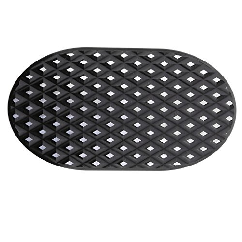 H HILABEE Cubierta de Almohadilla Granular de Pedal de Freno Negro para XL883 XL1200 Softail