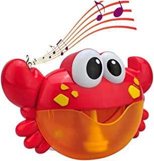 Moonideal Crab Bubble Bath Toy   Crabs Automatic Bubble Blower Machine for Toddler   Let Baby Love Bathing