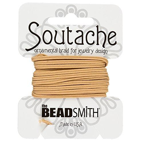 Beadsmith Lot de Panneaux Polyester Cordon – Deep Beige 2,7 m