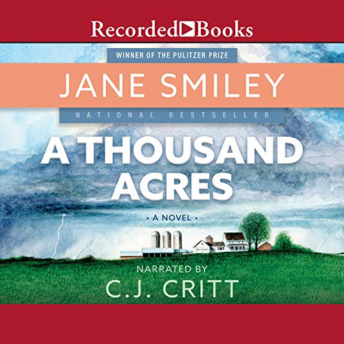 A Thousand Acres audiobook cover art