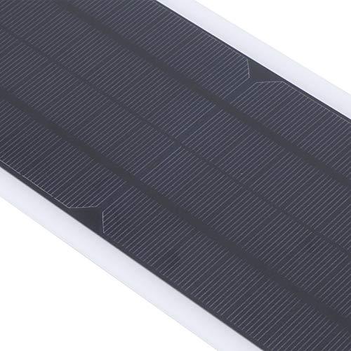 Jinyi Panel Solar de 18 V, con Cargador Solar Ligero y Duradero de operación Simple, Uso en Exteriores para Motocicletas Carga de automóviles en Exteriores