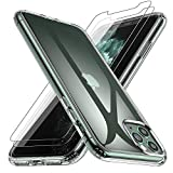 Losvick iPhone 11 Pro Max Case, Cover with [2x Tempered