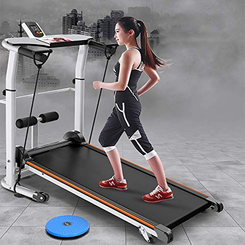 WYZXR Home Laufband zusammenklappbar Multifunktionales mechanisches Laufband Mini-Laufband Silent Walking Laufband Fitness Gewichtsverlust Trainingsgeräte