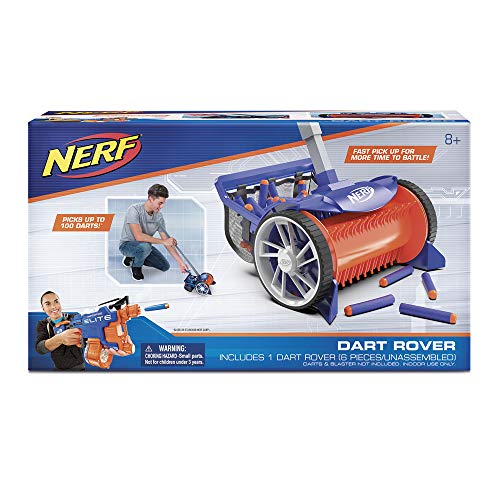 NERF NER0196 Elite Rover Picks Up 100 Darts