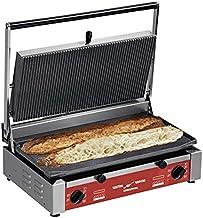 Grill Panini Spécial Baguette Plaques Lisses - PDC RL - 3 kW