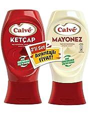 Calve Ketçap+Mayonez Set