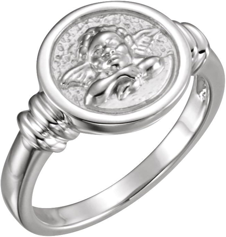Beautiful Sterling silver 925 sterling Sterlingsilver Angel Ring