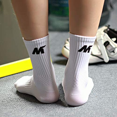 MYSENLAN 6 PACK Performance Athletic Socks for Running Training,Cycling,Sports Outdoors Compression Socks For Men /& Women