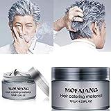 MOFAJANG Hair Coloring Dye Wax, Instant Hair Wax,...