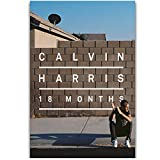 A&D Album Calvin Harris 18 Monate DJ Music Star Wandkunst