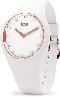 Ice Watch - Montre Ice Cosmos Swarovsky Silicone Blanc (016300)