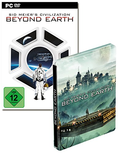 Civilization Beyond Earth Steel Book PC [Importación alemana]