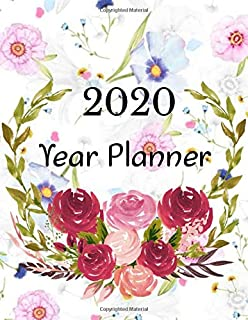 2020 Year Planner: A Christian Weekly Calendar & Planner Journal with Bible Verse - Organizer Budget Book. Tracking your Income & Expenses. A Financial Goals Planner (Magnet Planner 2020)