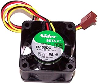 magnaroute Solo Fan compatible with 00N6991-02 / IBM xSeries 130, 135, 325, 330, 335 (Nidec TA150DC C34957-58)