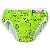 ImseVimse, Badehose für Babys, Schwimmwindel S -6-8kg Grüne Fische - 2