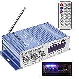 Estéreo Kentiger HY-502S 2CH altavoz Hi-Fi Bluetooth Super Bass USB Power amplificador digital/SD Card radio FM del jugador Regard