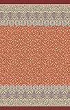 Bassetti Foulard Cotone, Arancione, 270 x 270 cm