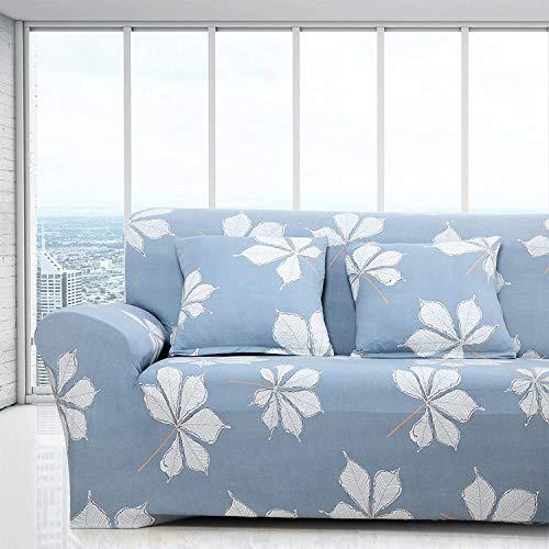 Topashe Funda sofá Duplex,Funda de sofá elástica, Funda de sofá de Tela-B_90-140cm,elástico Tejido Protector por sofá Funda