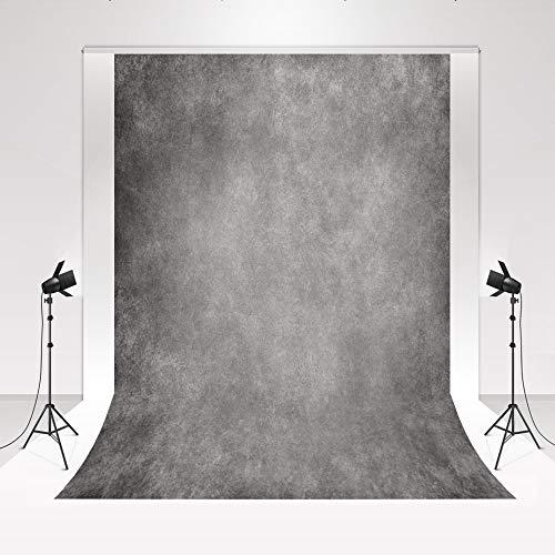 Kate Photo Studio Telón de Fondo Gris 3x2m Gris Cemento Pared Estudio...