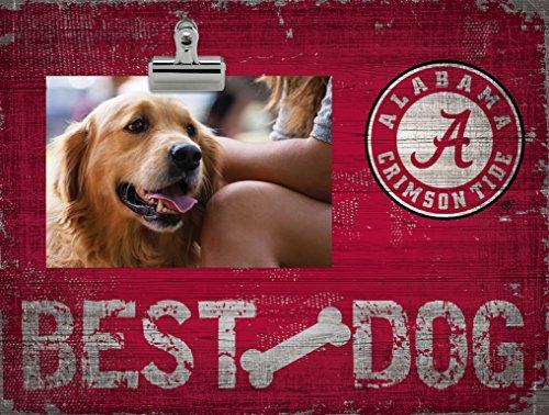 Fan Creations NCAA Alabama Crimson Tide Best Dog Clip-It Photo Frame