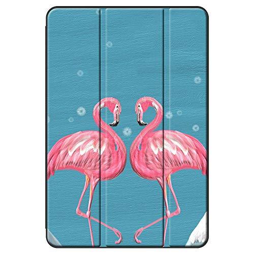 BEAFACE Cases for Apple iPad Pro 12.9 2017 2015/iPad Pro Case,Folio PC + PU Shockproof Anti-Drop Shell for iPad Pro 12.9 2017 2015/iPad Pro Cover-Flamingo 3
