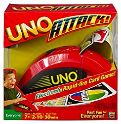 Uno Attack card game gift for families