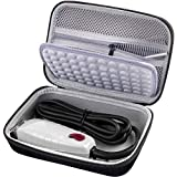 Case for Andis Professional T-Outliner Beard/Hair Trimmer, Model GTO 04710/04603/ 04775, with Mesh Pocket for Attachment Set