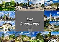 Bad Lippspringe Impressionen (Wandkalender 2022 DIN A2 quer): Wunderschoene Bilder aus dem heilklimatischen Kurort Bad Lippspringe (Monatskalender, 14 Seiten )