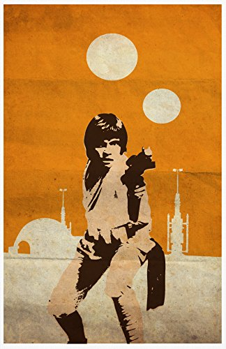 OHMYPOSTER Vintage Pop Art Star Wars Trilogy Set of 3 Posters