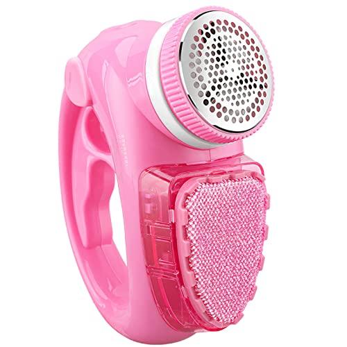 UNISOPH Quitapelusas Electrico De Ropa, Removedor De Bolas De Pelo USB 2 En 1 Hair Ball Trimmer para Tela De Ropa De Hogar