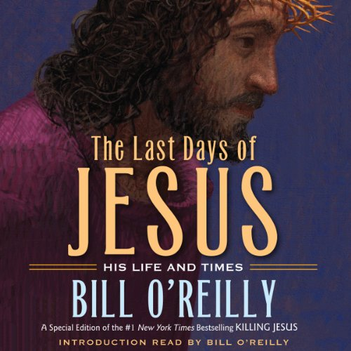 The Last Days of Jesus audiobook cover art