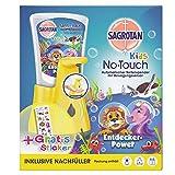 Sagrotan KIDS No-Touch Automatischer Seifenspender für Kinder inkl. Nachfüller Entdeckerpower und...