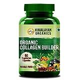 Himalayan Organics Organic Collagen Builder for Hair and Skin With Biotin & Vitamin C - 90 Veg...