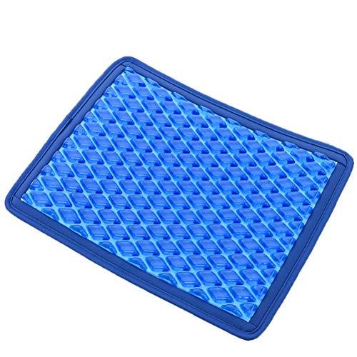 No logo Vitalität Gelkissen Eisauflage Autokissen kalten Sommer frei Wassereinspritzung Kühlgel Kissen Kissen Dekompression (Farbe : Blau)