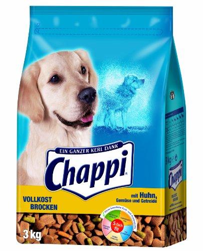 Chappi Vollkost Brocken mit Huhn, Gemüse und Getreide, 1er Pack (1 x 3 kg)